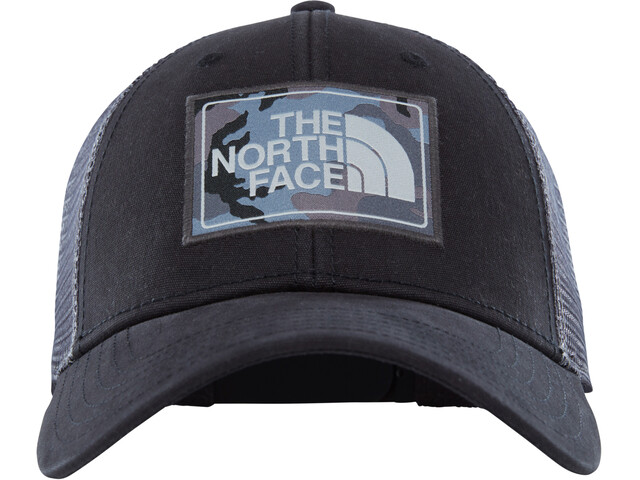 The North Face Mudder Trucker Hat TNF Black/Asphalt Grey Camo